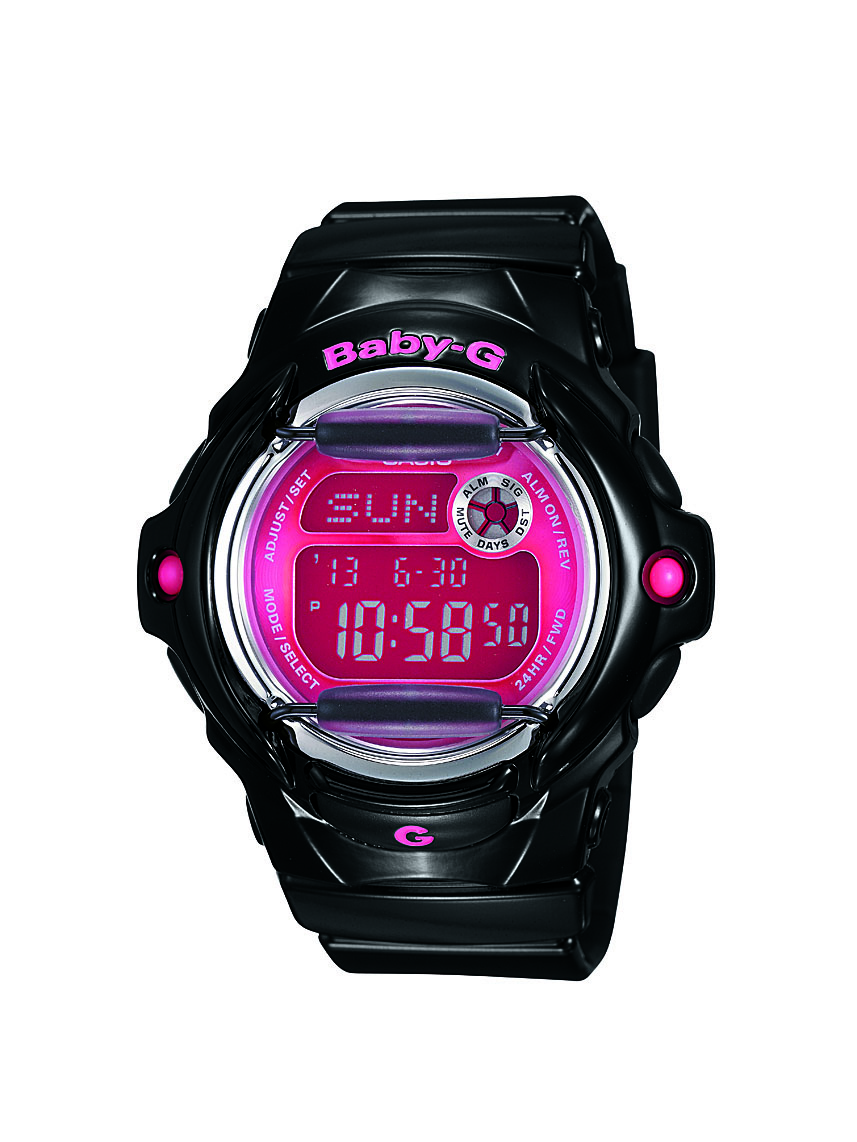 Casio BG169R-1B Baby-G Womens Watch