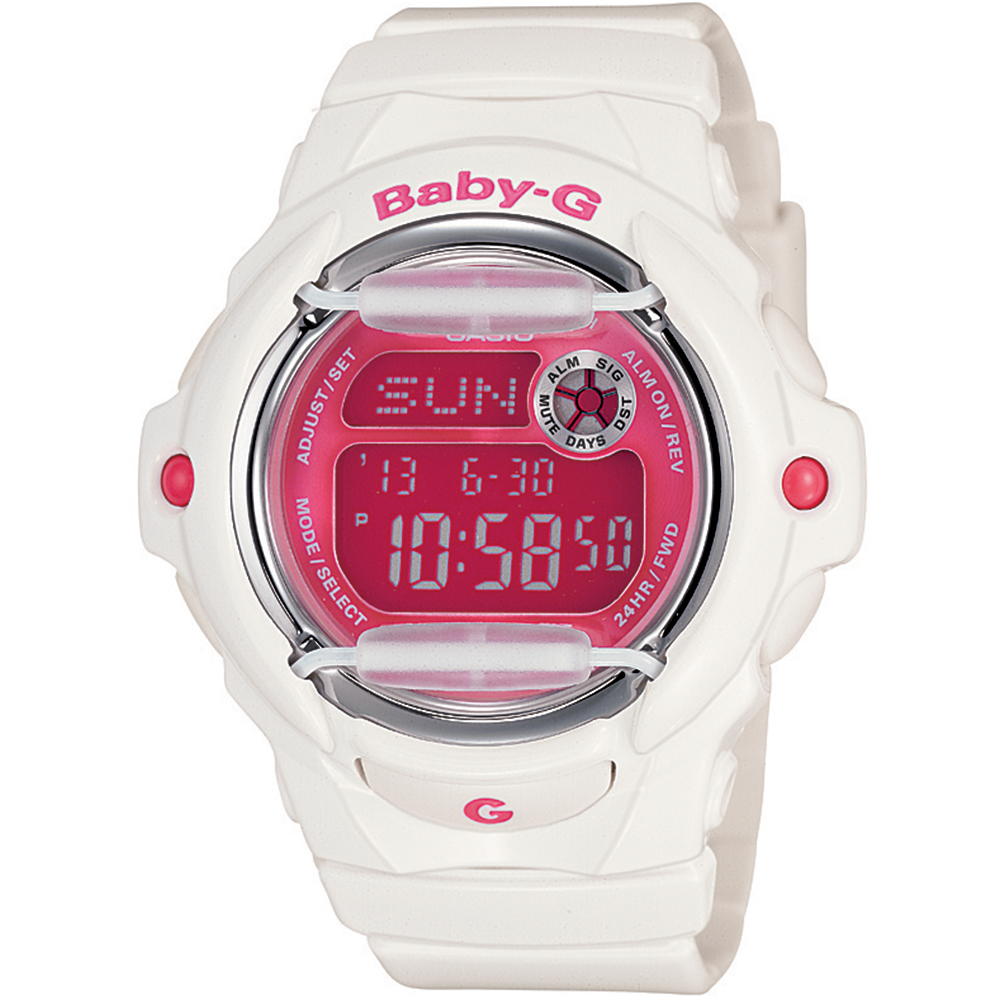 Casio BG169R-7D Baby-G Womens Watch