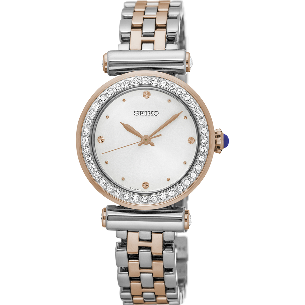Seiko SRZ466P Swarovski Crystals Womens Watch