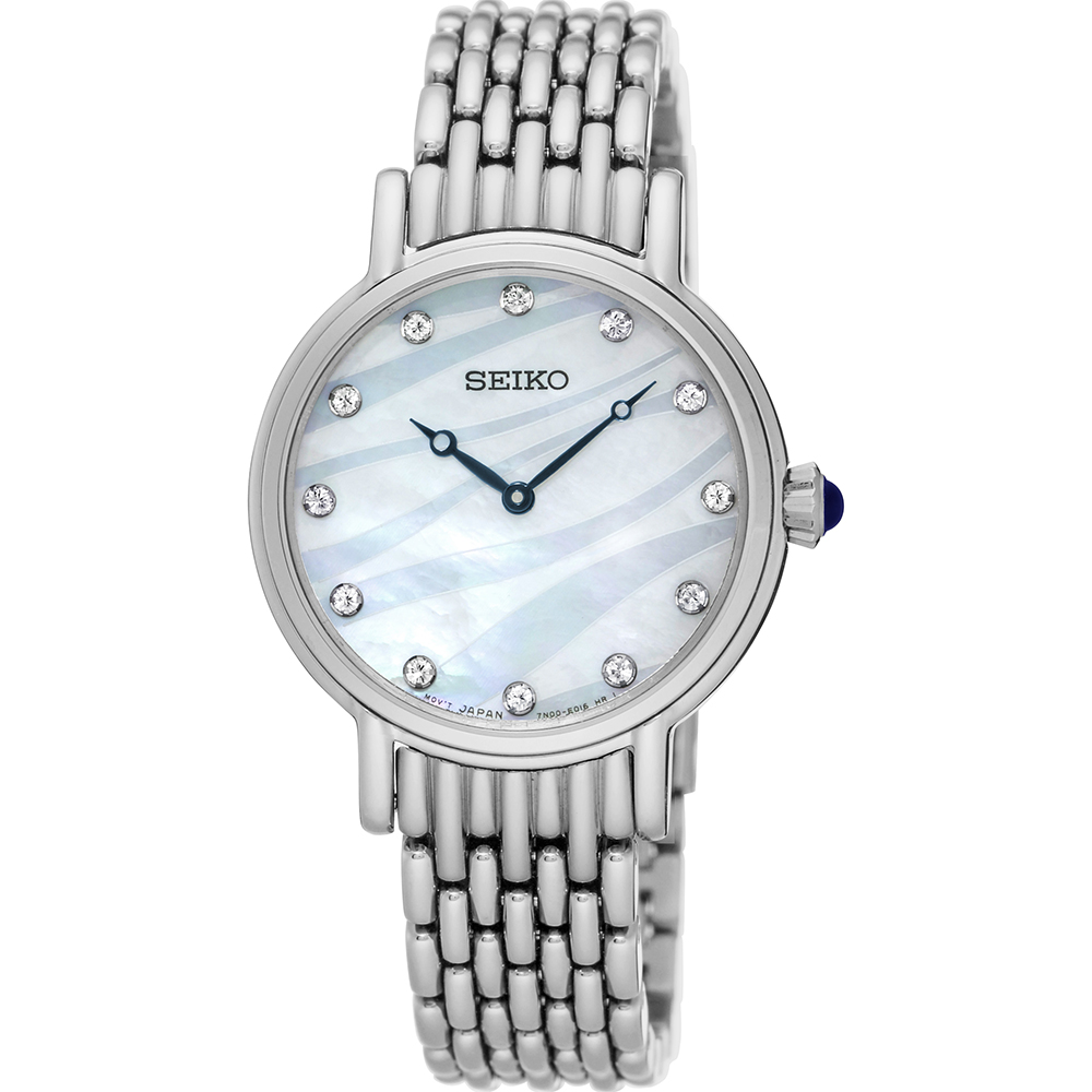 Seiko SFQ807P Crystal Set Womens Watch