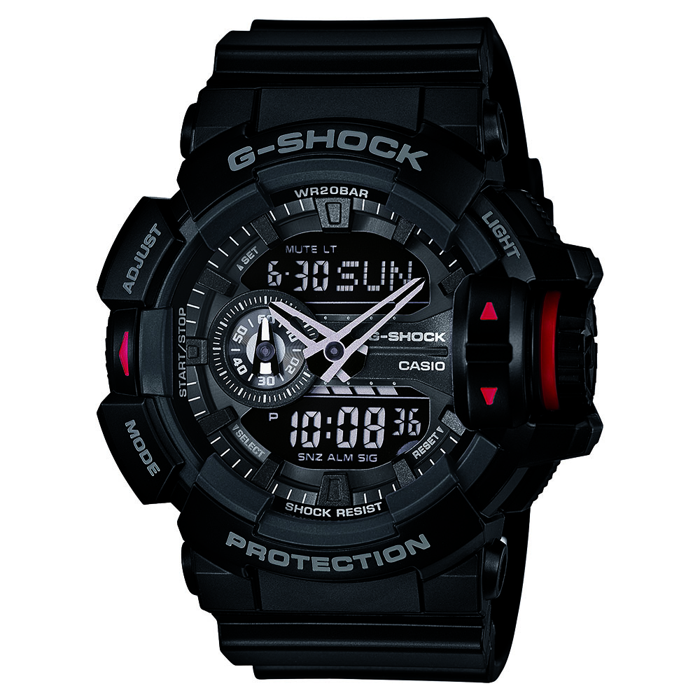 Casio GA400-1B G-Shock Black Mens Watch
