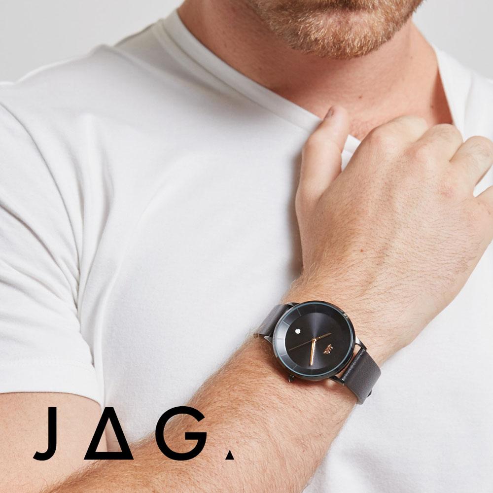 Jag Hudson J2148 Mens Black Watch
