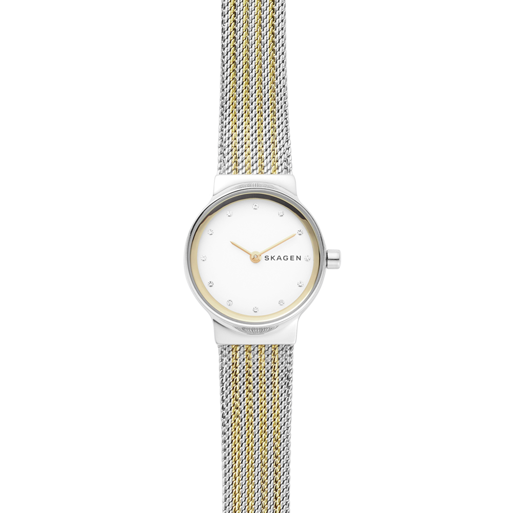 Skagen SKW2698 Freja Ladies Stainless Steel Two Tone Watch