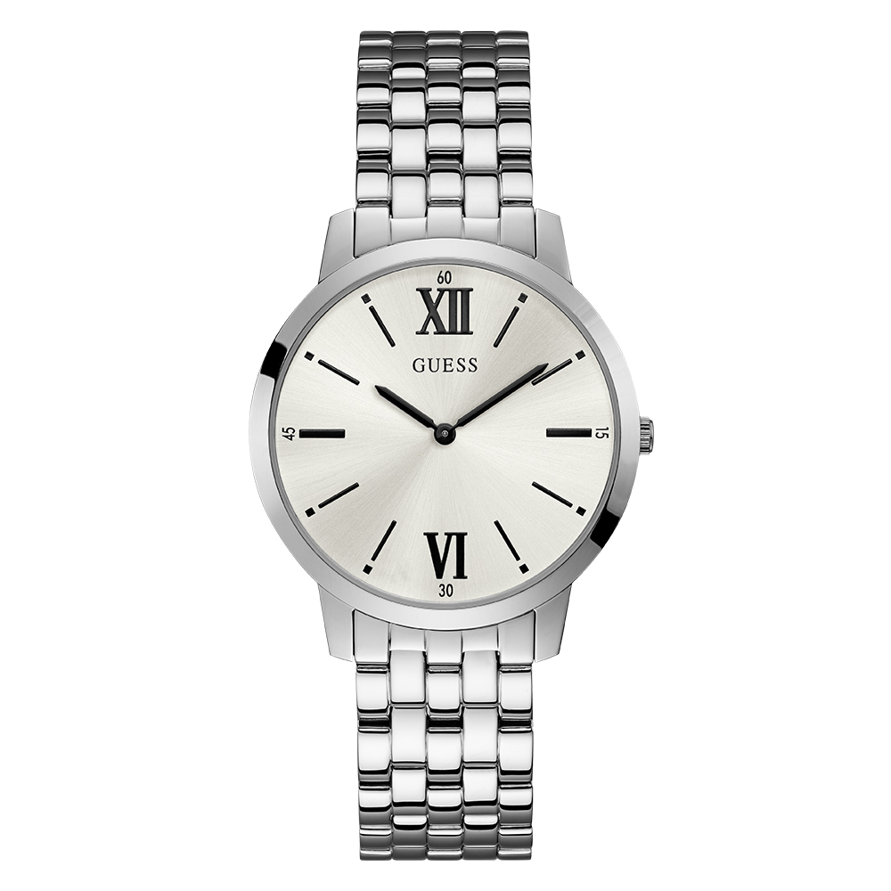 Guess Broker W1072G1 Stainless Steel Mens Watch