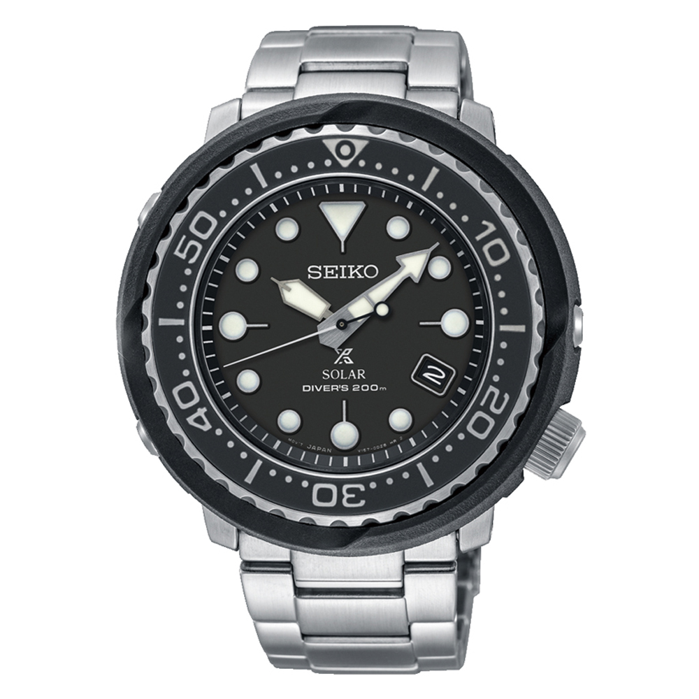 Seiko Prospex SNE497P Stainless Steel Mens Diver Watch