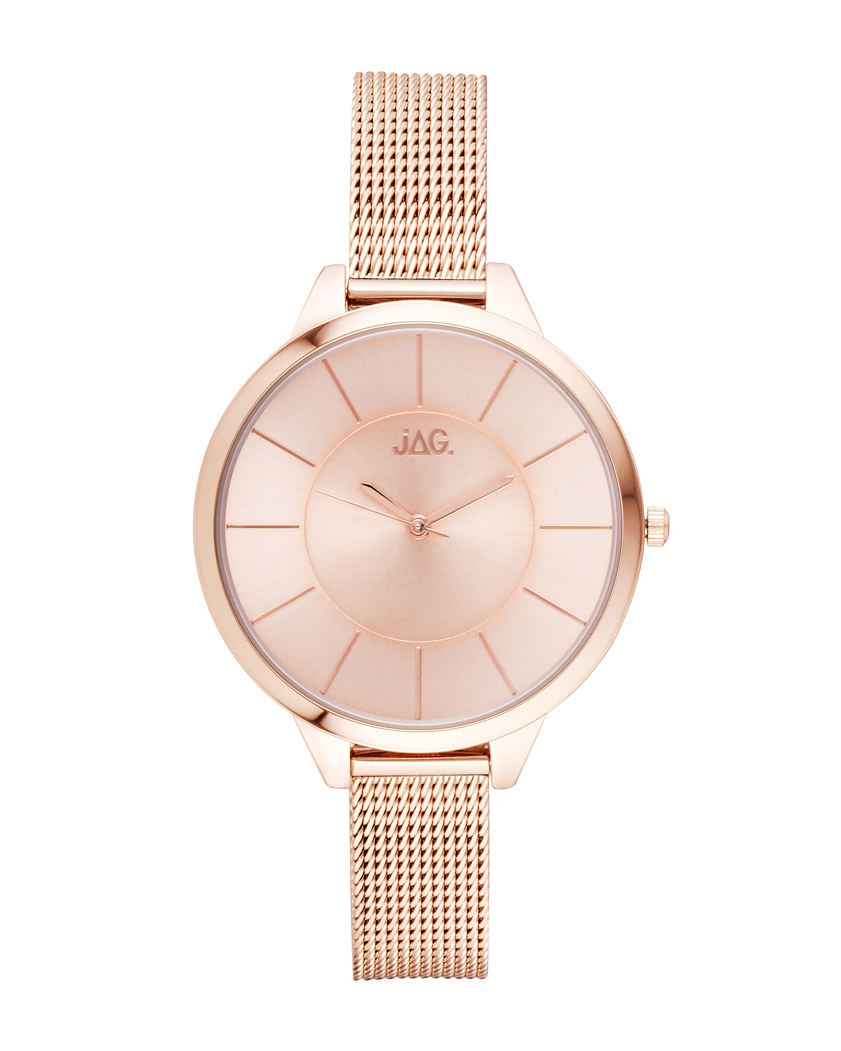 Jag Lulu J2210A Rose Stainless Steel Womens Watch