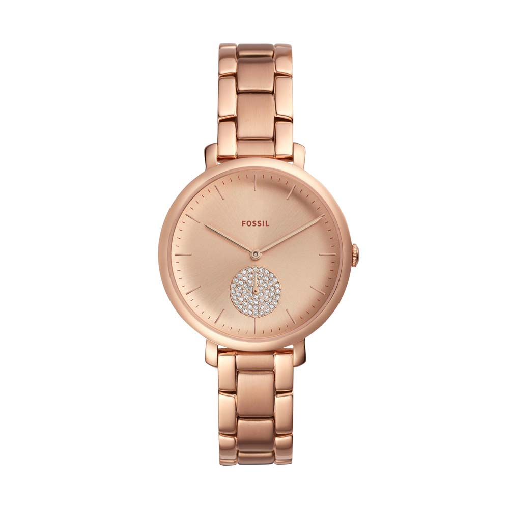 Fossil Jacqueline ES4438 Rose Stainless Steel Womens Watch