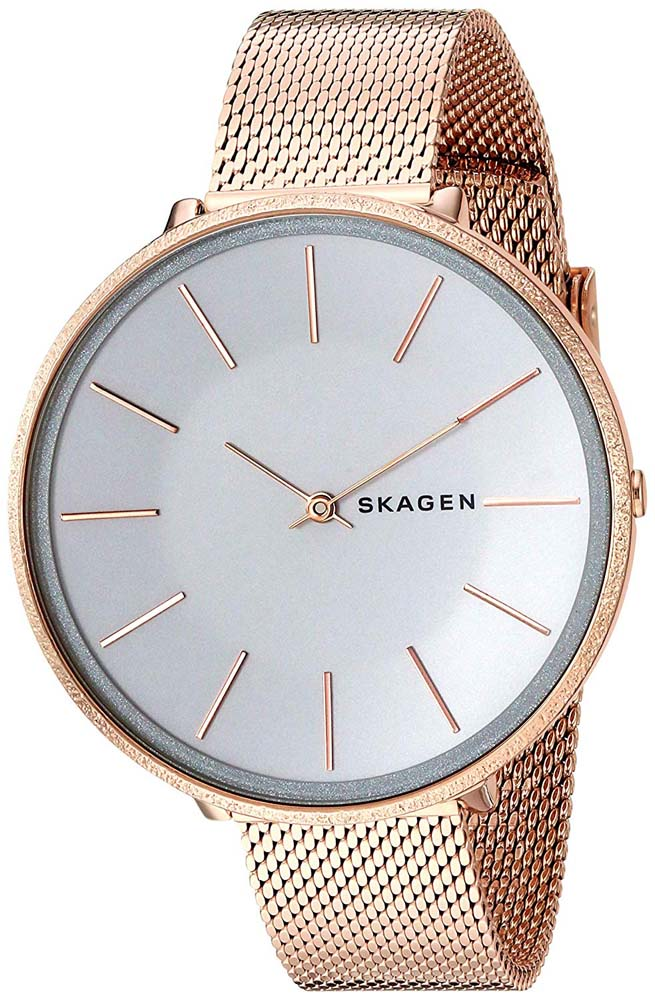 Skagen Karolina SKW2726 Rose Stainless Steel Womens Watch