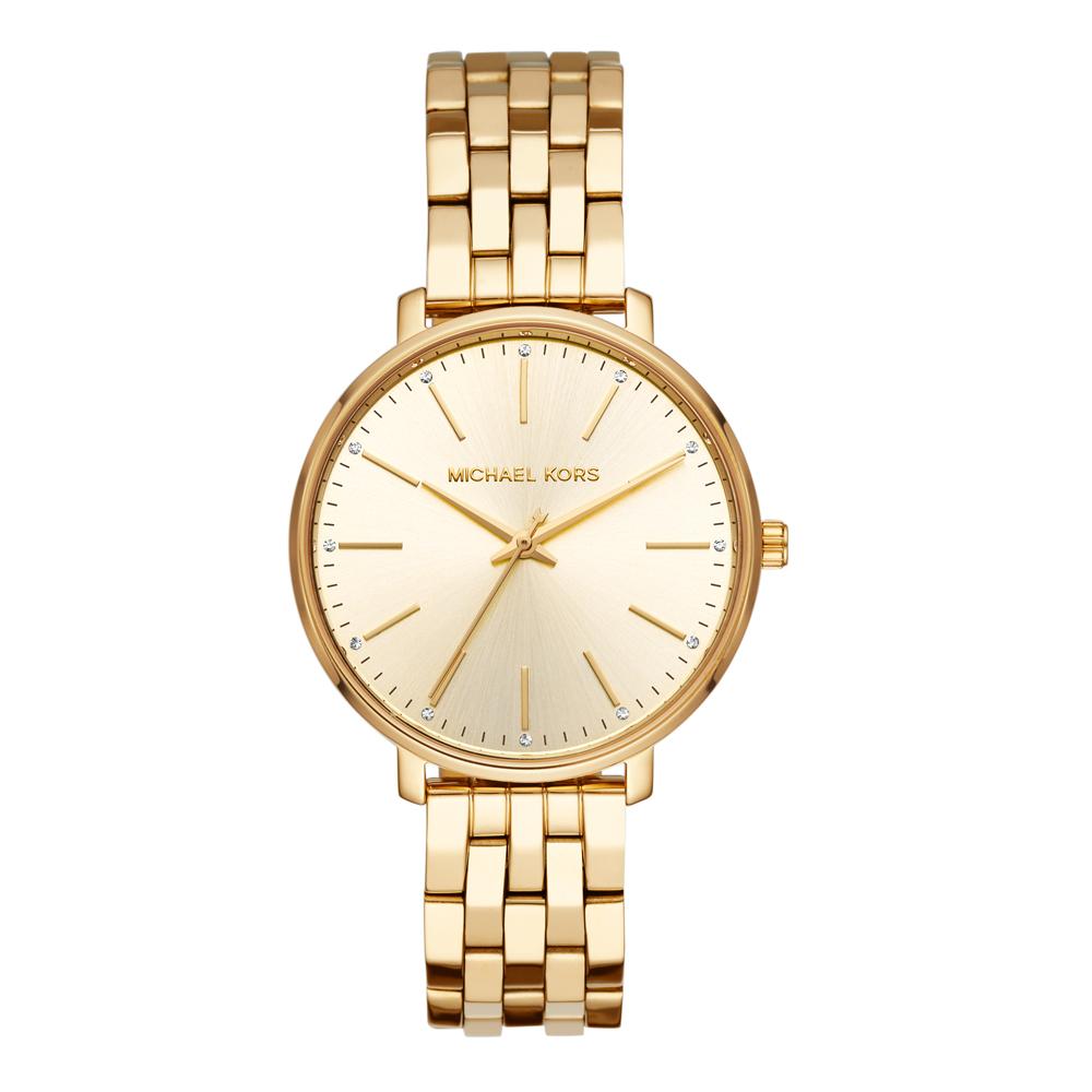 Michael Kors Pyper MK3898 Gold Stainless Steel Womens Watch