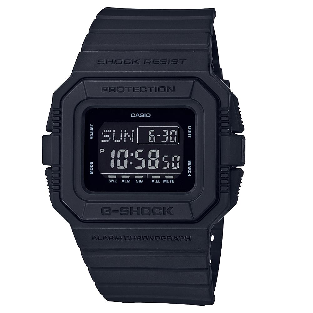 G Shock DWD5500BB-1DR Black Resin Mens Watch