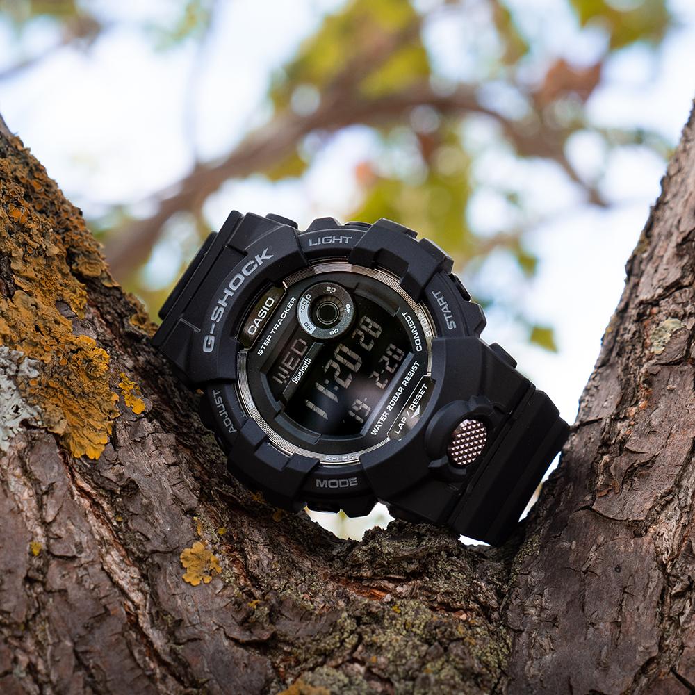 G-Shock G-Squad GBD800-1BDR Black Resin Mens Watch