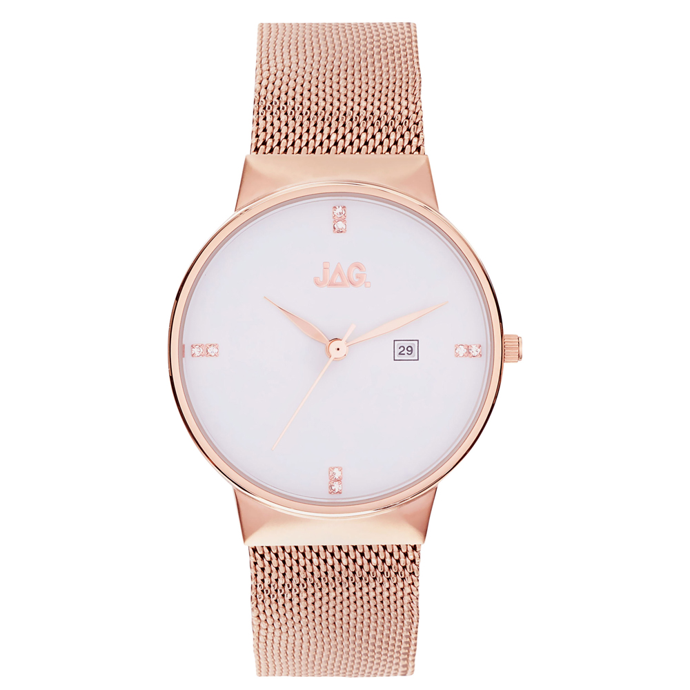 Jag J2242A Rose Stainless Steel Womens Watch