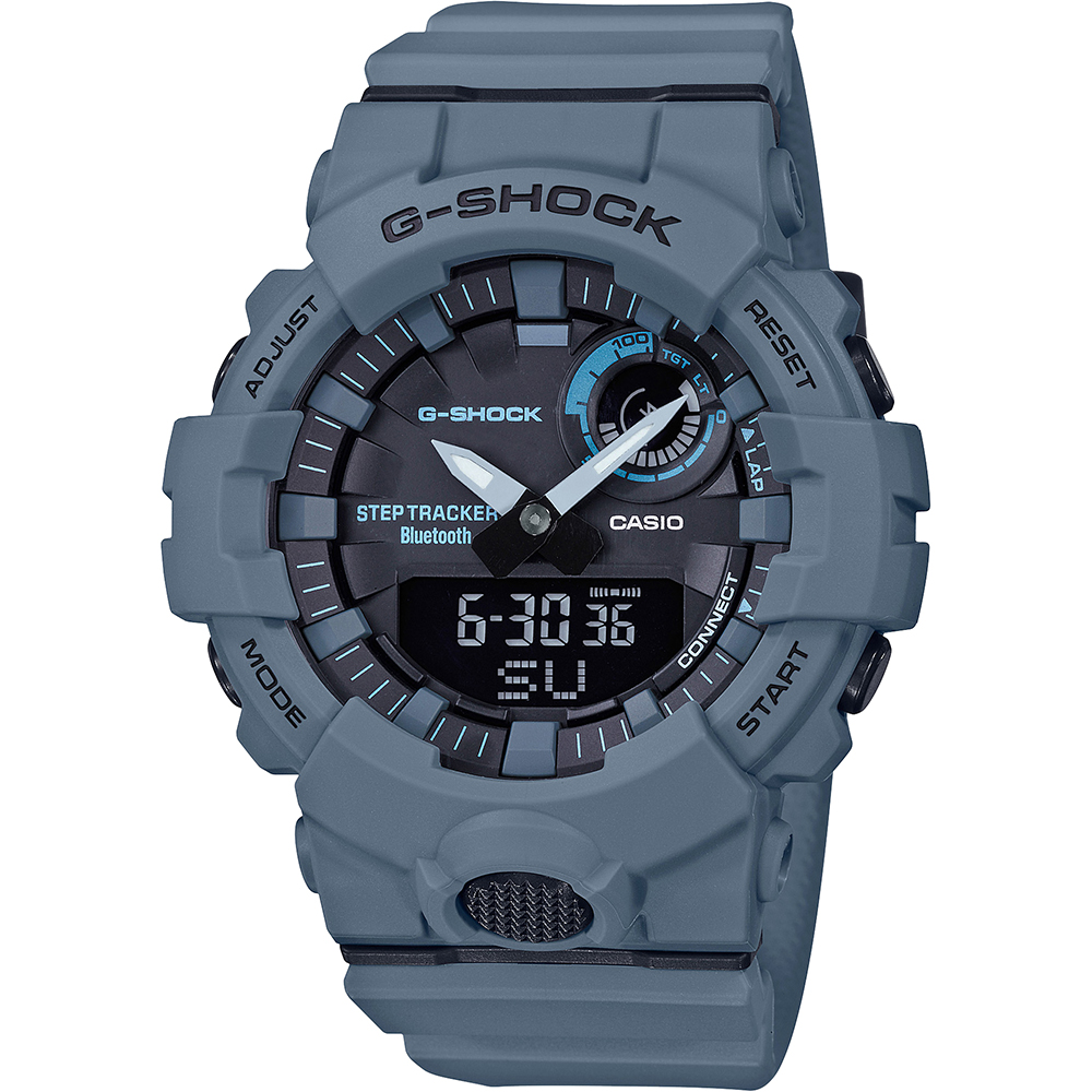 G-Shock GBA800UC-2A Bluetooth Blue Resin Mens Watch