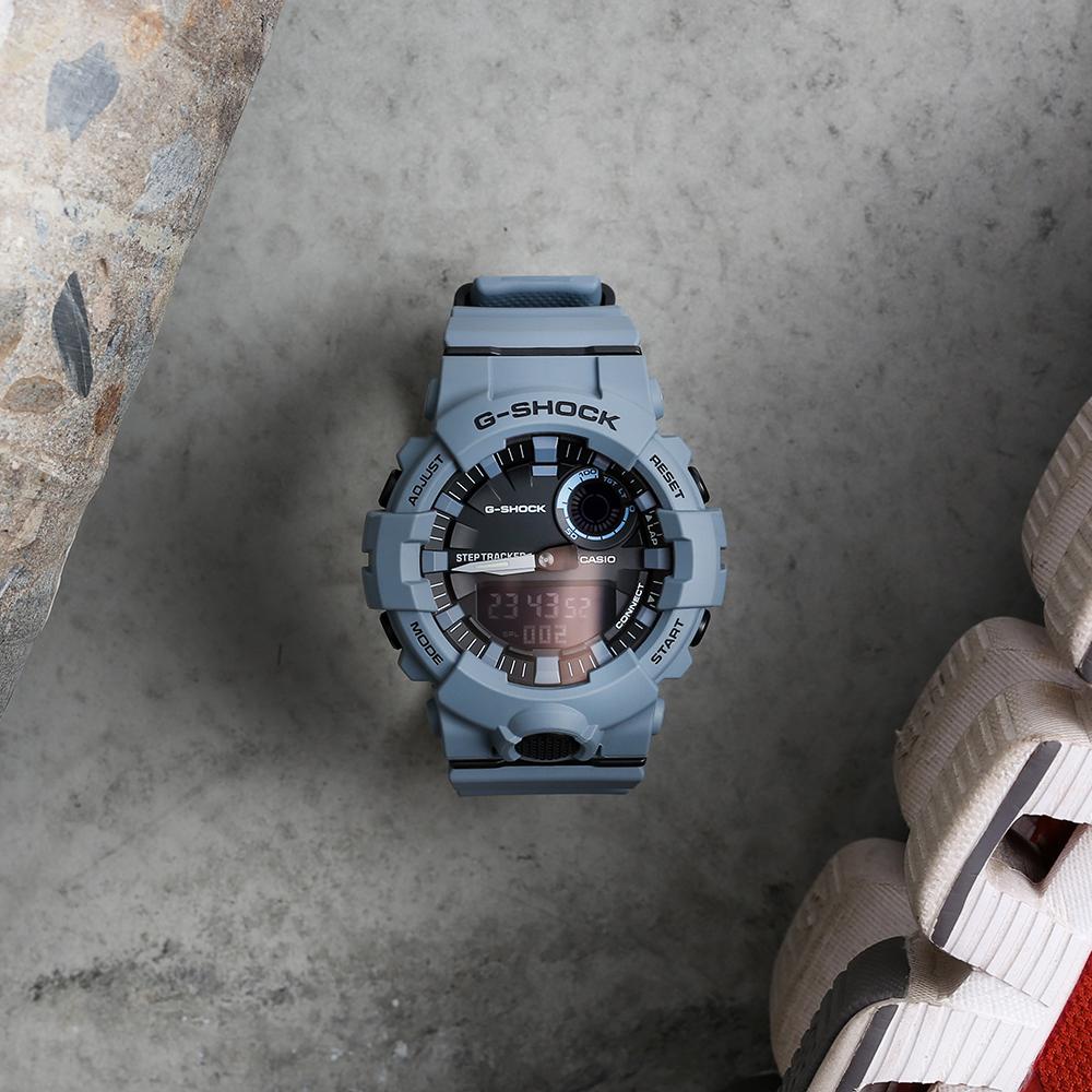 G-Shock GBA800UC-2A Bluetooth Blue Resin Mens Watch