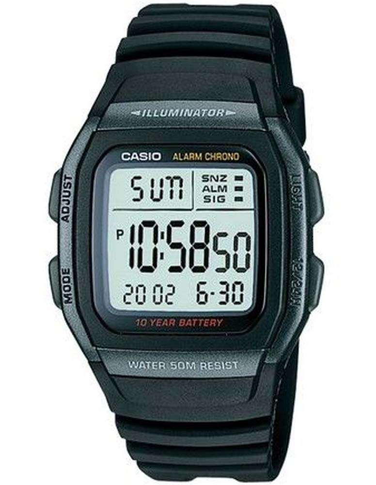 Casio W96H-1B Classic Sports Watch