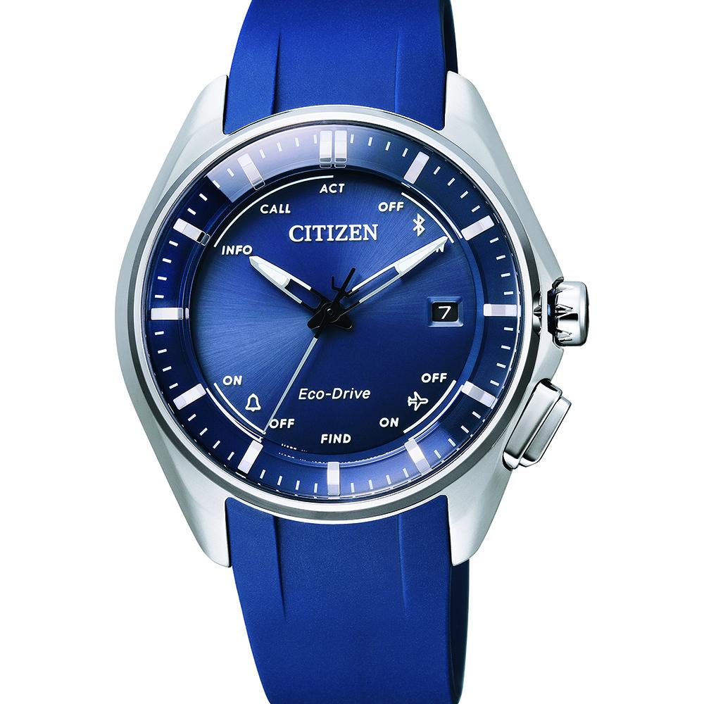 Citizen Naomi Osaka BZ4000-07L Blue Rubber Mens Watch