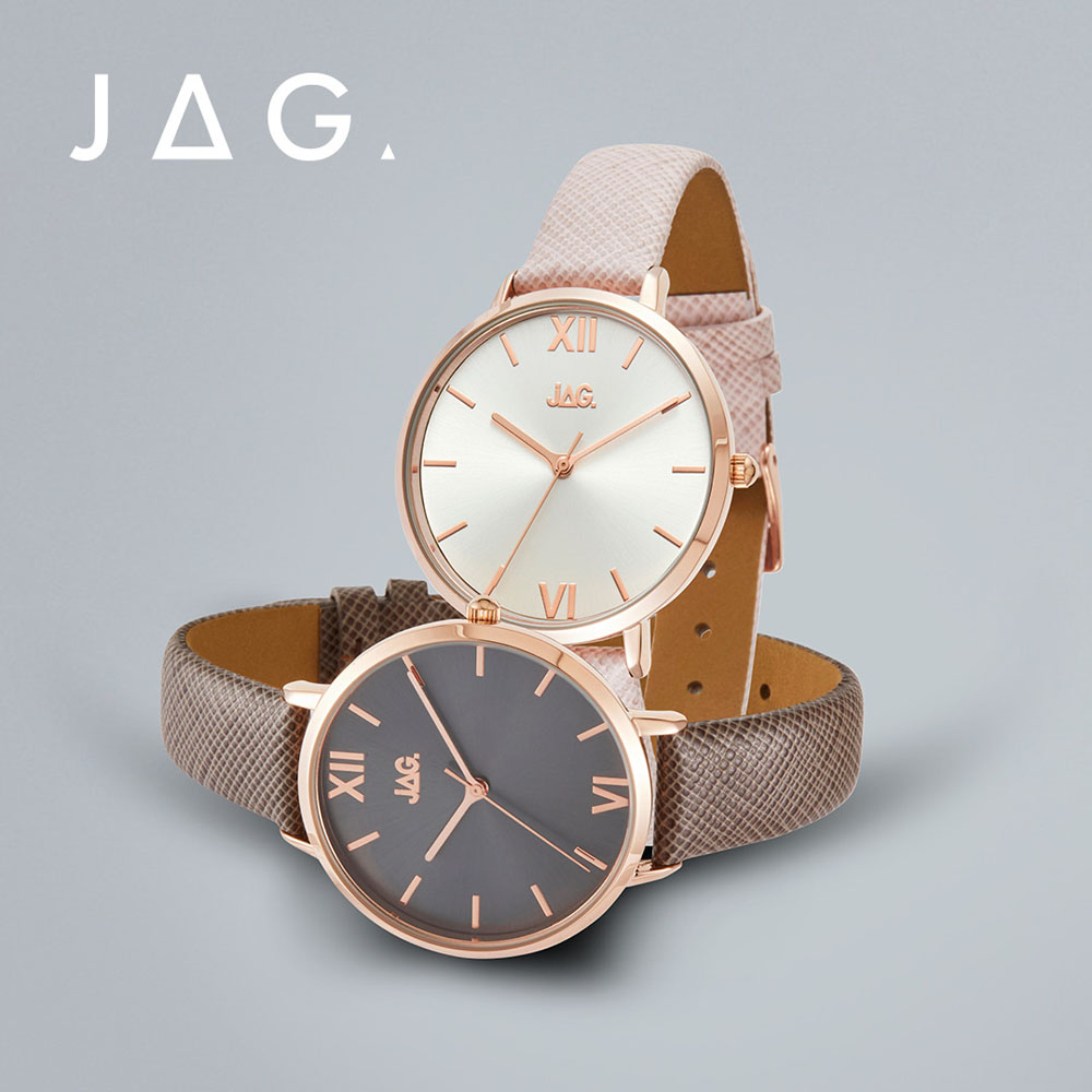 Jag Sophie J2259 Pink Leather Womens Watch