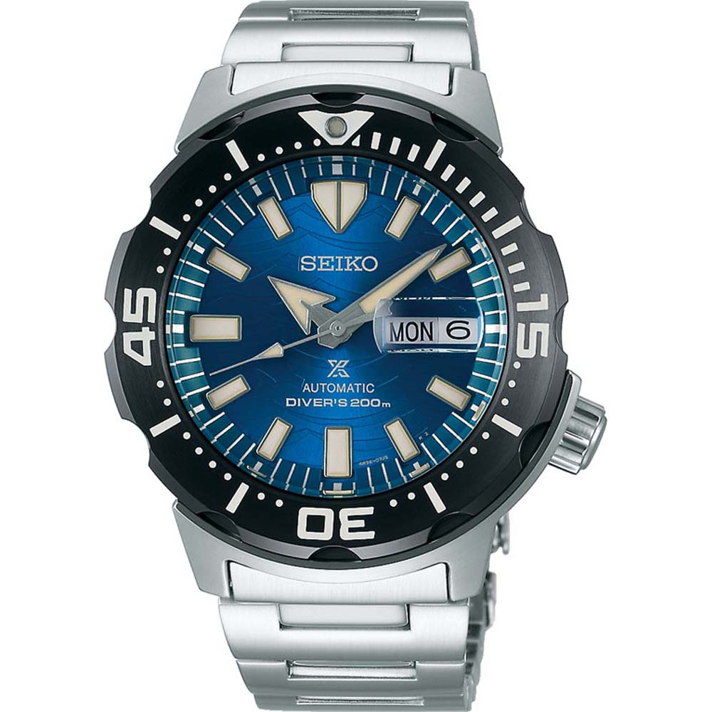Seiko Monster Prospesx SRPE09K Save The Ocean Speical Edition  Mens Watch