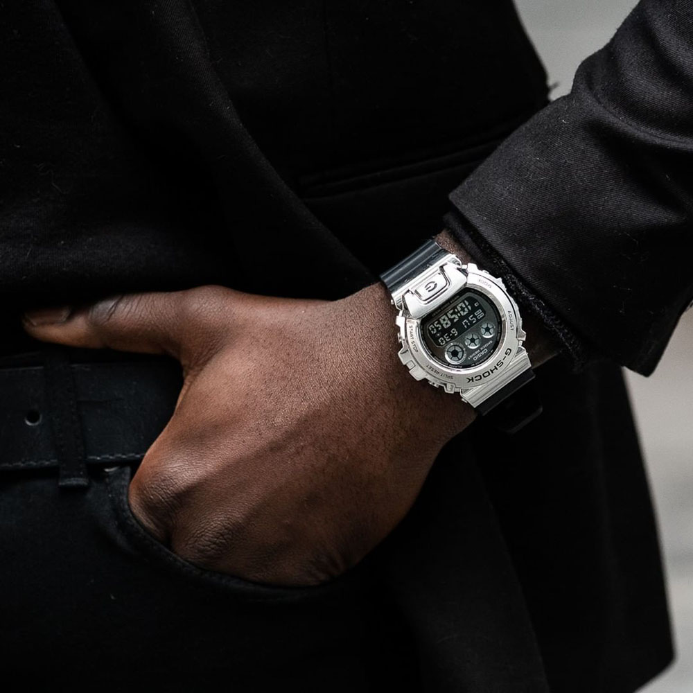 Casio G-Shock GM6900-1DR Black Resin Mens Watch