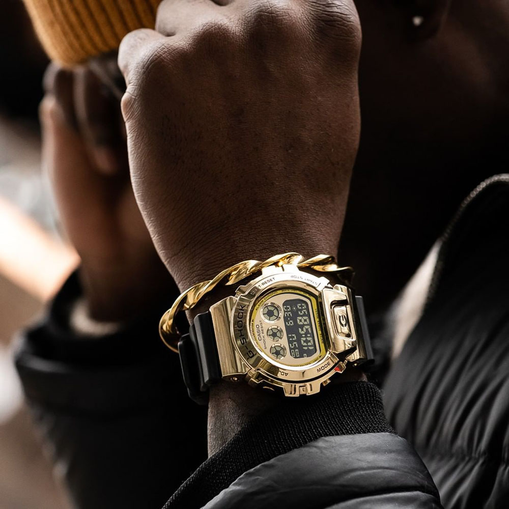 Casio G-Shock GM6900G-9DR Black Resin Mens Watch