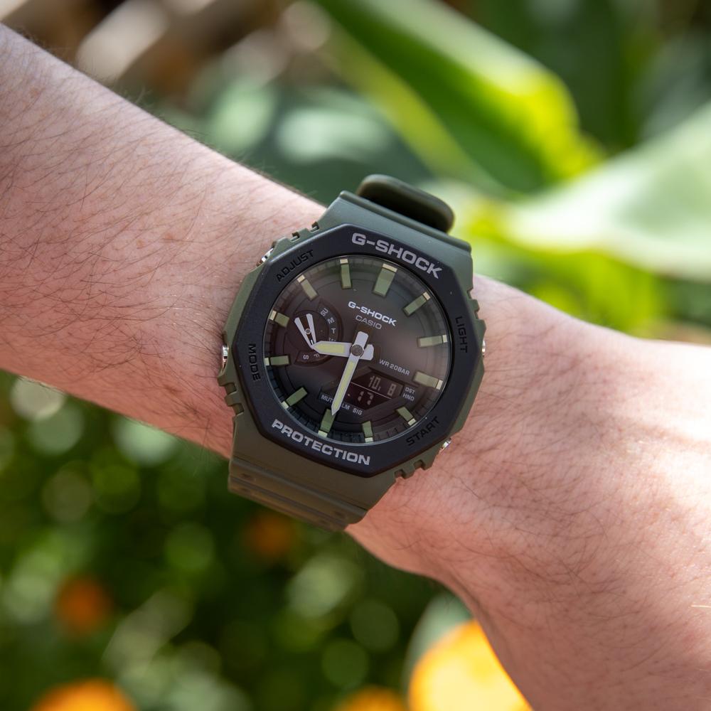 Casio G-Shock Carbon Core Guard GA2110SU-3ADR 'CasiOak'  Mens Watch