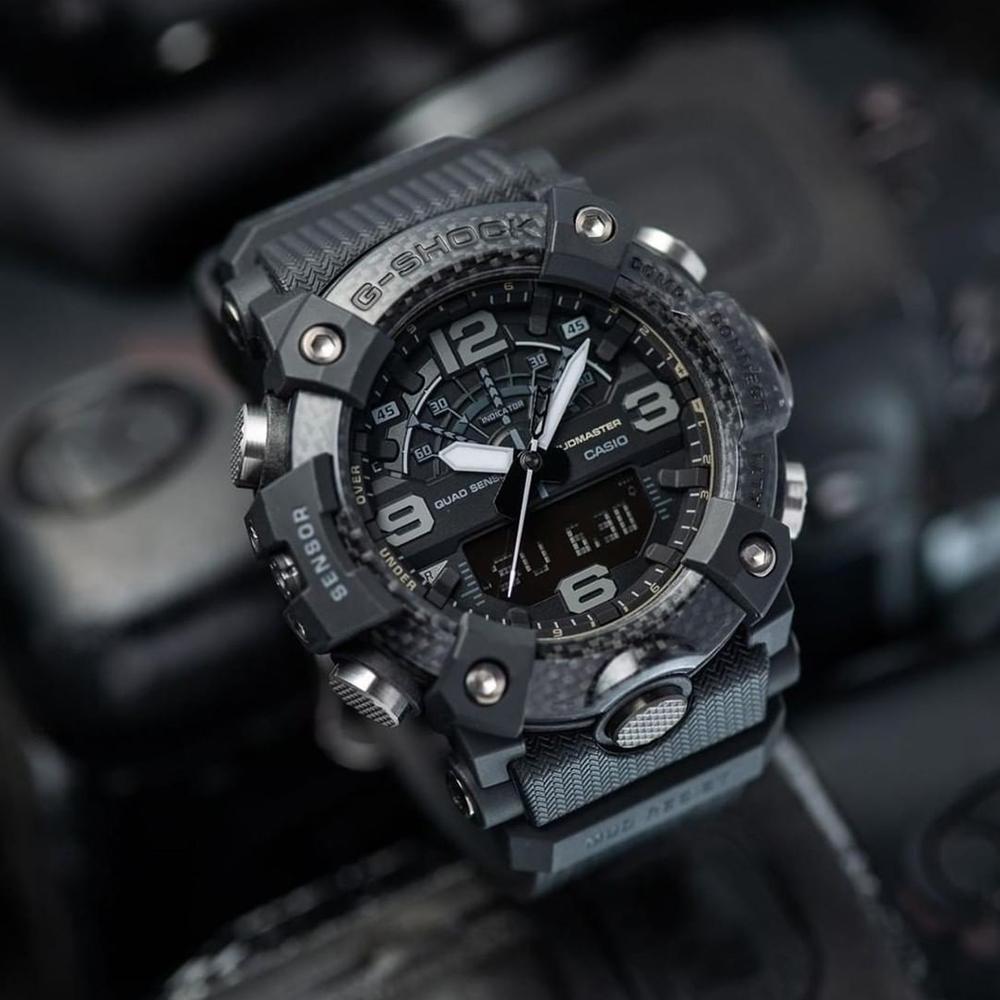 G-Shock Connected  Mudmaster GGB100-1B Master of G Blackout Mens Watch