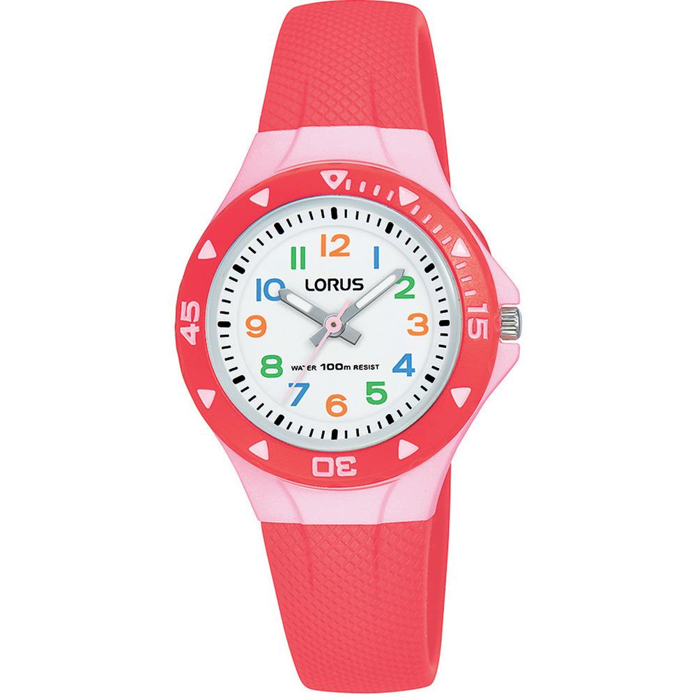 Lorus R2355MX-9 Coral Pink Kids Watch