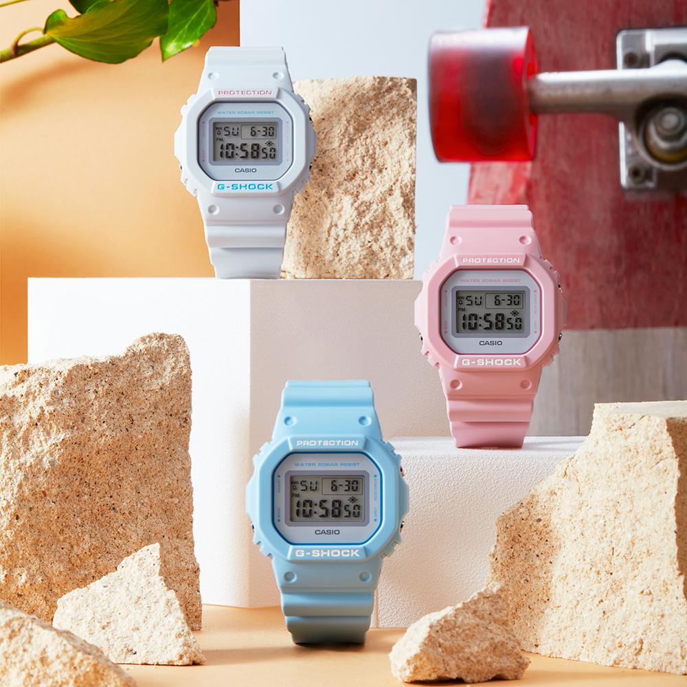 Casio G-Shock DW5600SC-2D Blue Digital Youth Watch