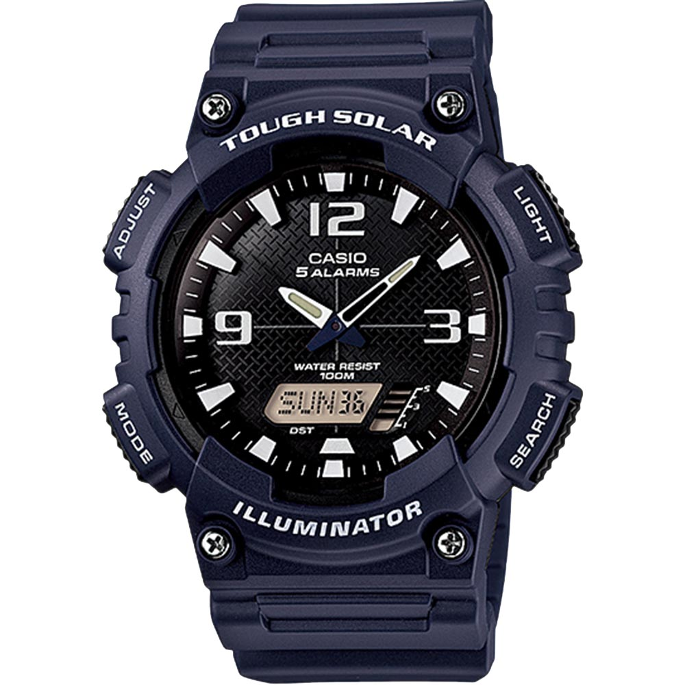 Casio AQS810W-2A2 Tough Solar Analog Digital Watch