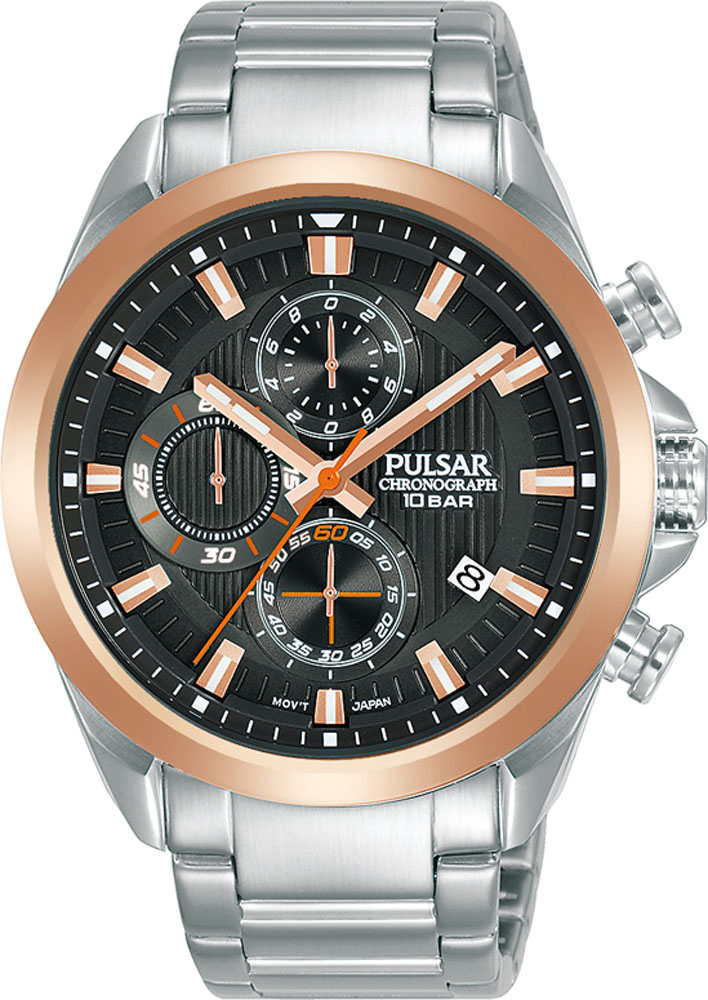 Pulsar Chronograph PM3184X WR100 Mens Watch