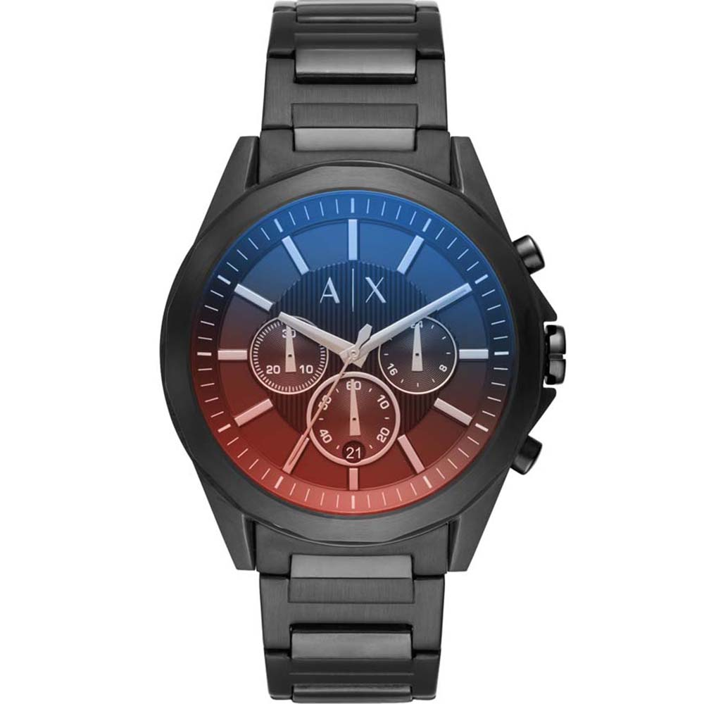 AX2615 Armani Exchange Drexler Red & Blue  Watch