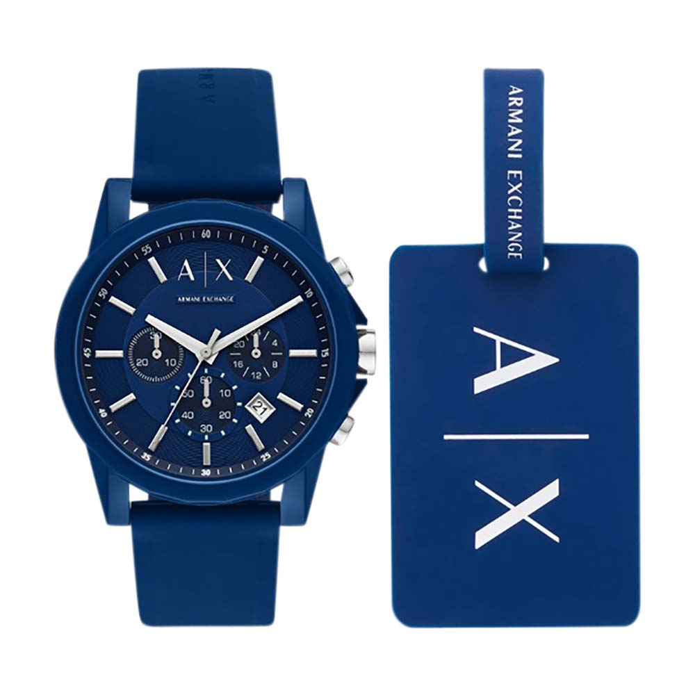 AX7107 Armani Exchange Outer Banks Blue Watch