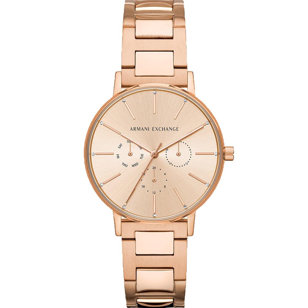AX5552 Armani Exchange Round Lola Rose Gold Tone Watch