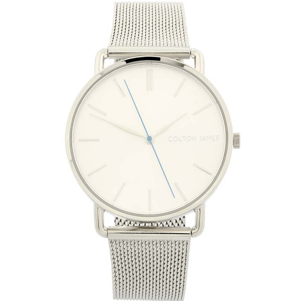 Colton James Eclipse Classic White Dial Silver Womans Watch