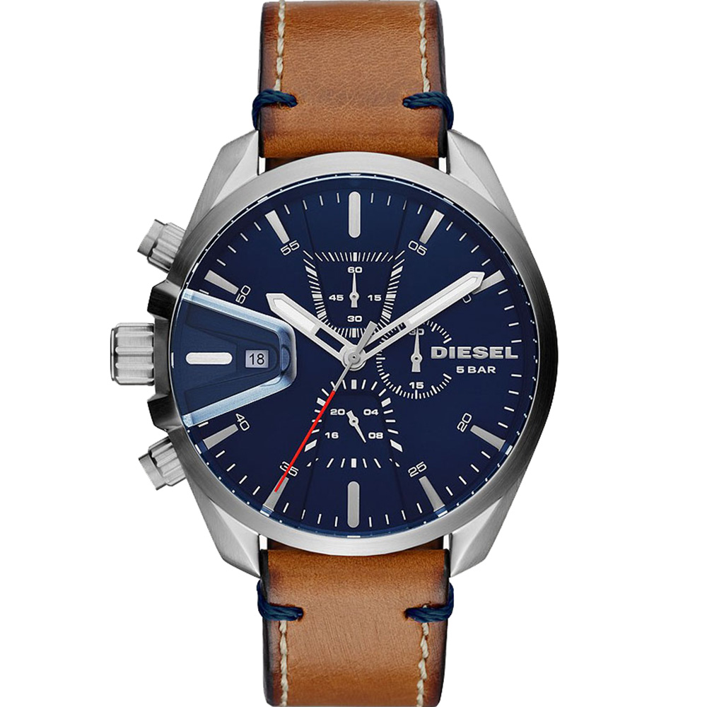 Diesel MS9 DZ4470 Chronograph Brown Mens Watch