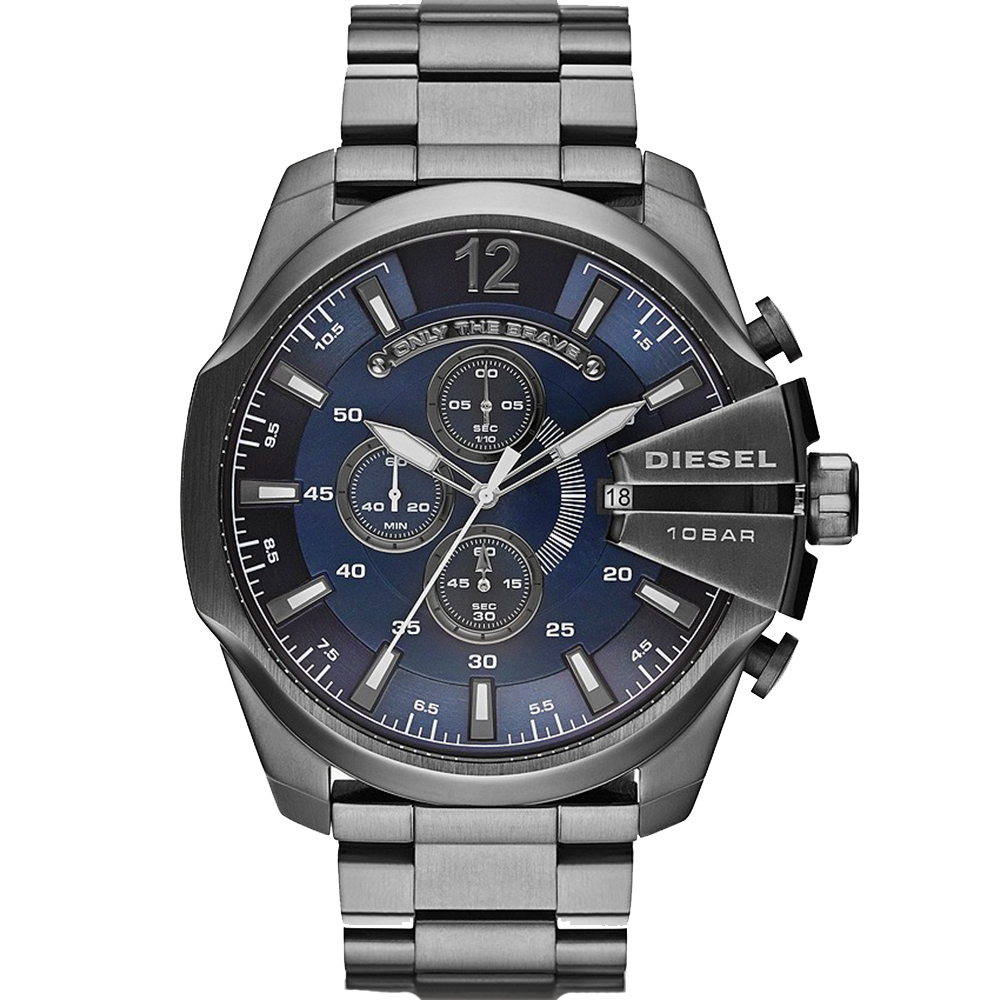 Diesel Mega Chief DZ4329 Chronograph Grey Mens Watch