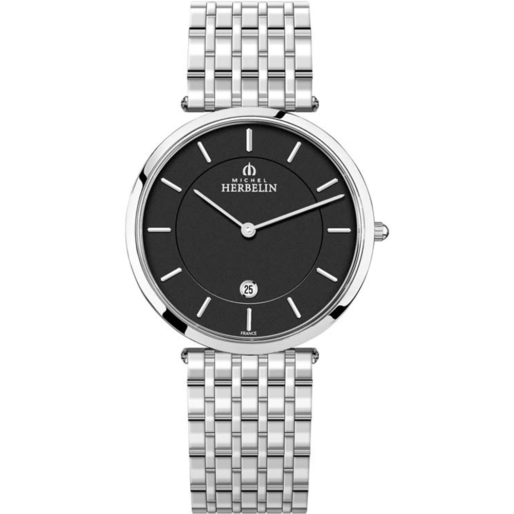 Michel Herbelin Epsilon 19416/B14 Mens Silver Watch