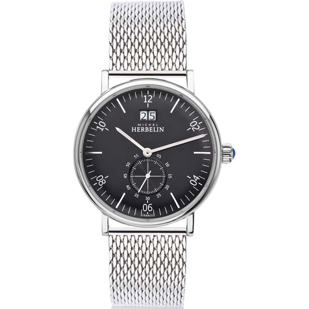 Michel Herbelin Inspiration 18247/14B Mens Silver Watch