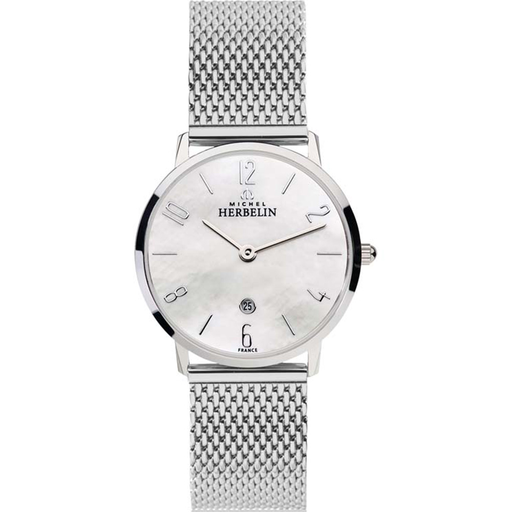 Michel Herbelin City 16915/29B  Womens Silver Watch