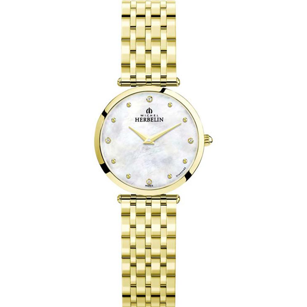 Michel Herbelin Epsilon 17116/BP89 Womens Golden Watch