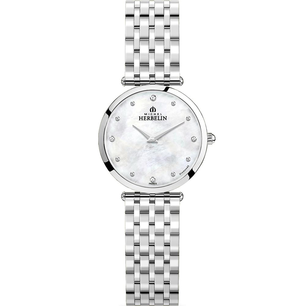 Michel Herbelin Epsilon 17116/B89 Womens Silver Watch