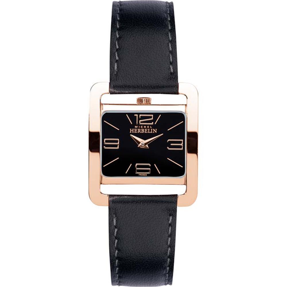 Michel Herbelin 5EME Avenue 17137/PR14 Womens Black Watch