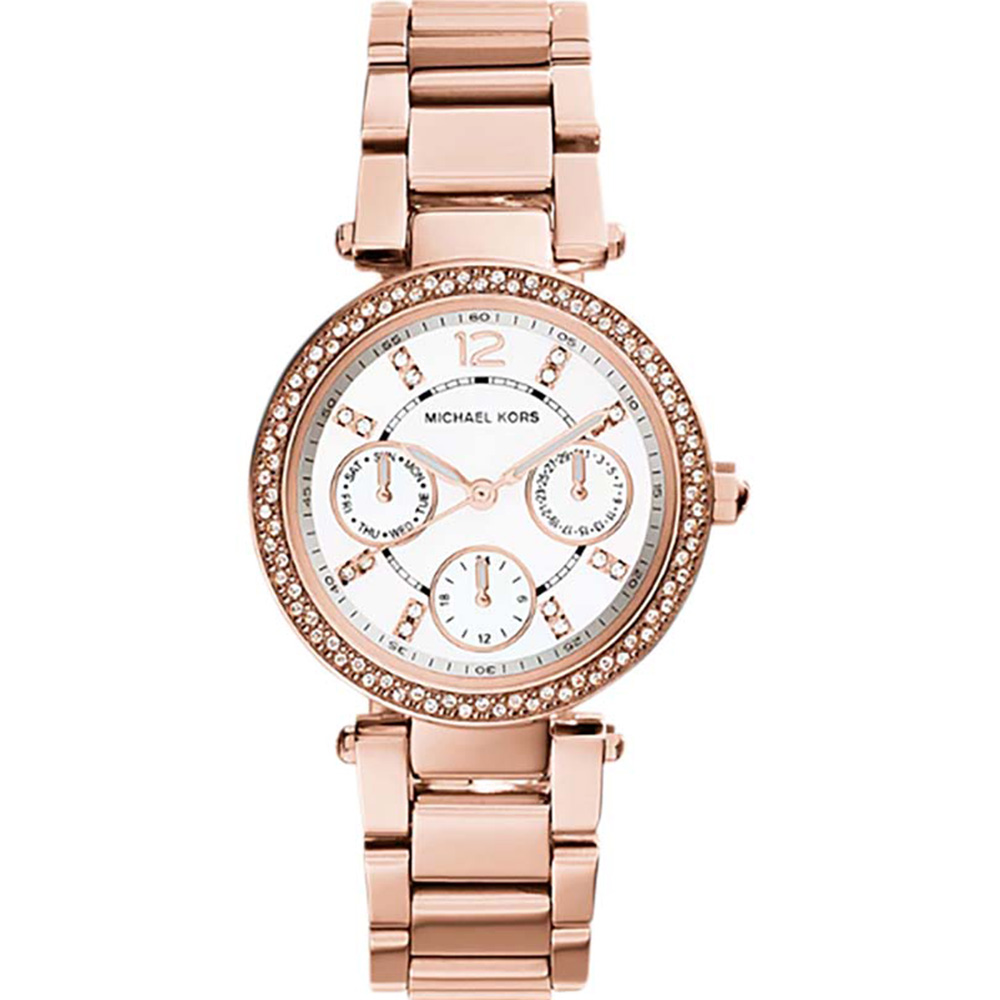 Michael Kors Mini Parker MK561 6 Womens Rose Gold Watch