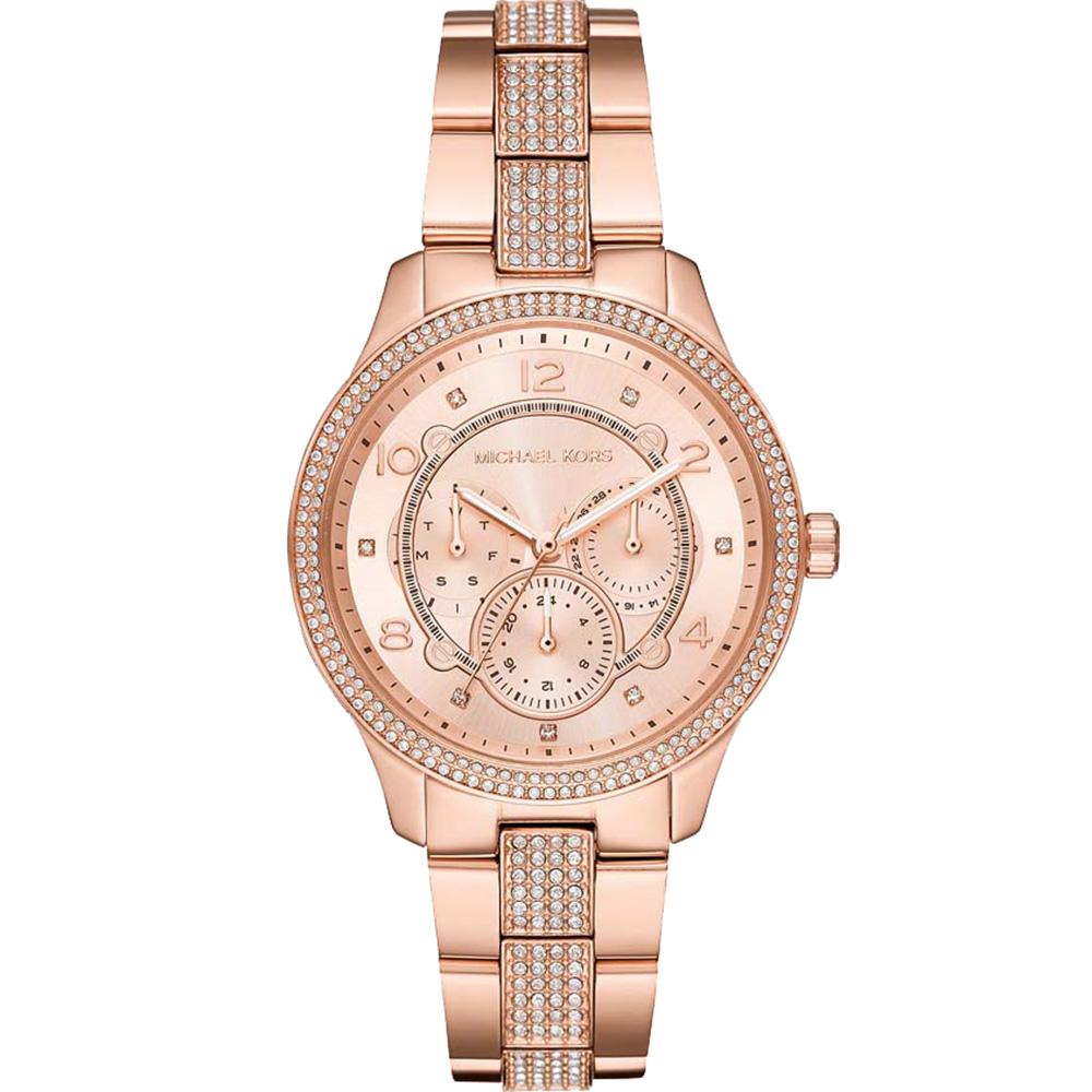 Michael Kors Runway MK6614 Womans Rose Gold Watch