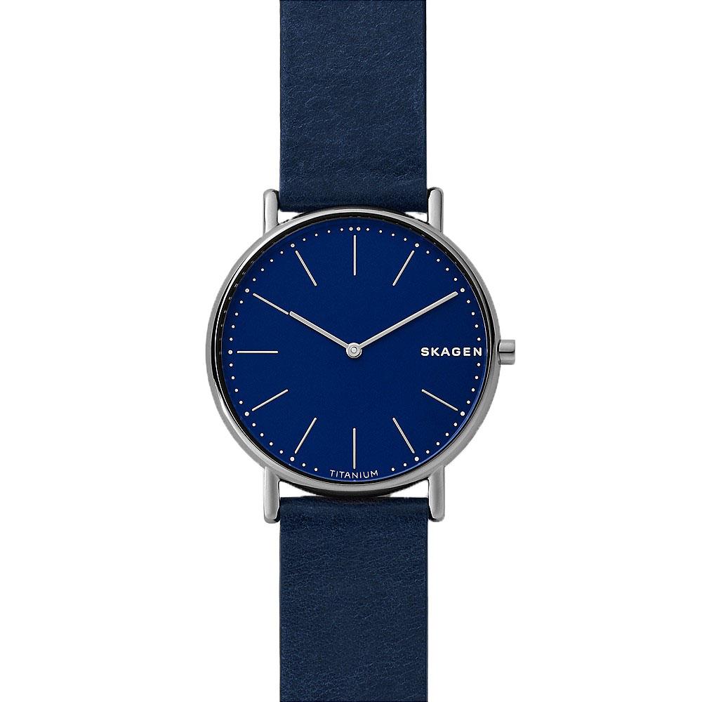 SKW6481 Skagen Mens Blue Signatur G Watch