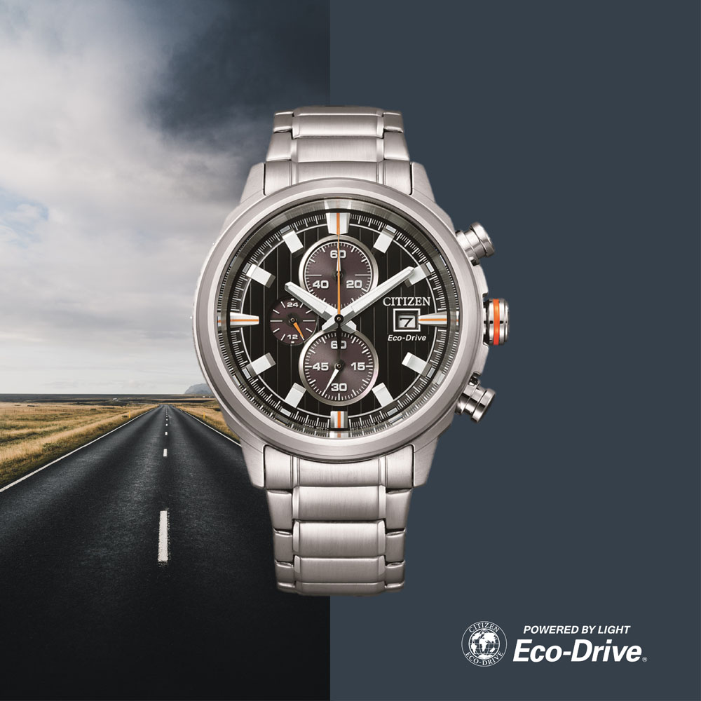 Citizen Eco-Drive Chronograph CA0730-85E Mens Watch