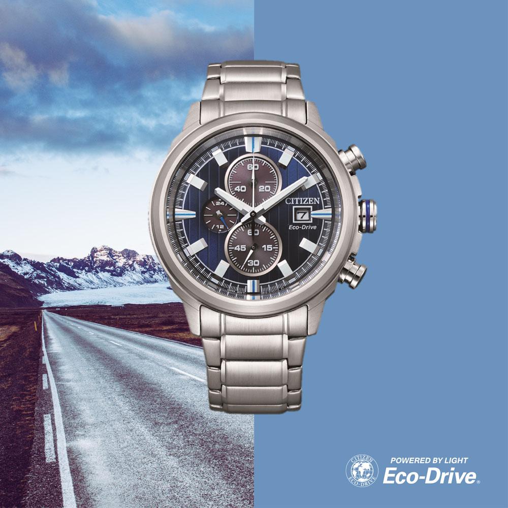 Citizen Eco-Drive Chronograph CA0731-82L Mens Watch