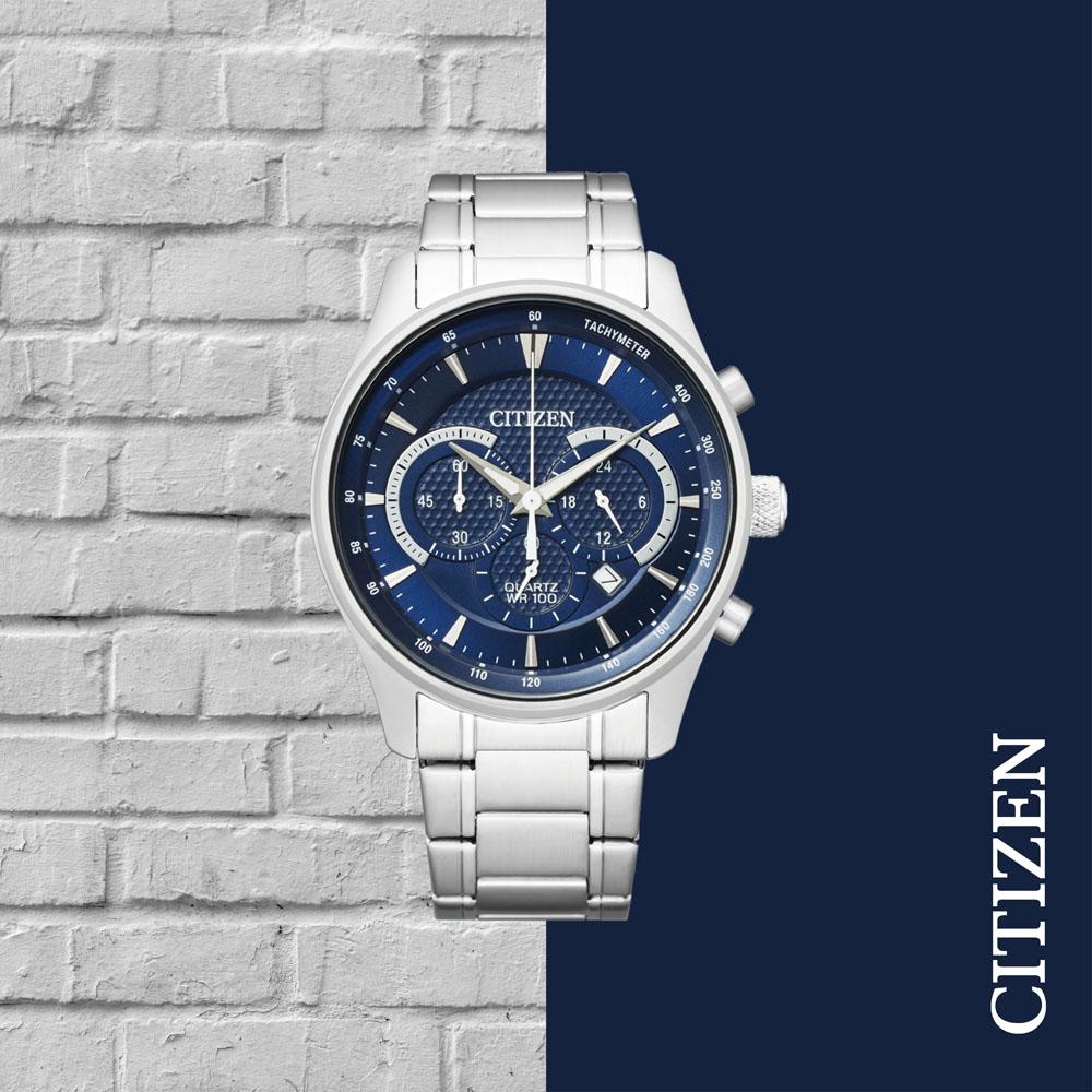 Citizen Quartz Elegant Chronograph AN8190-51L Mens Watch
