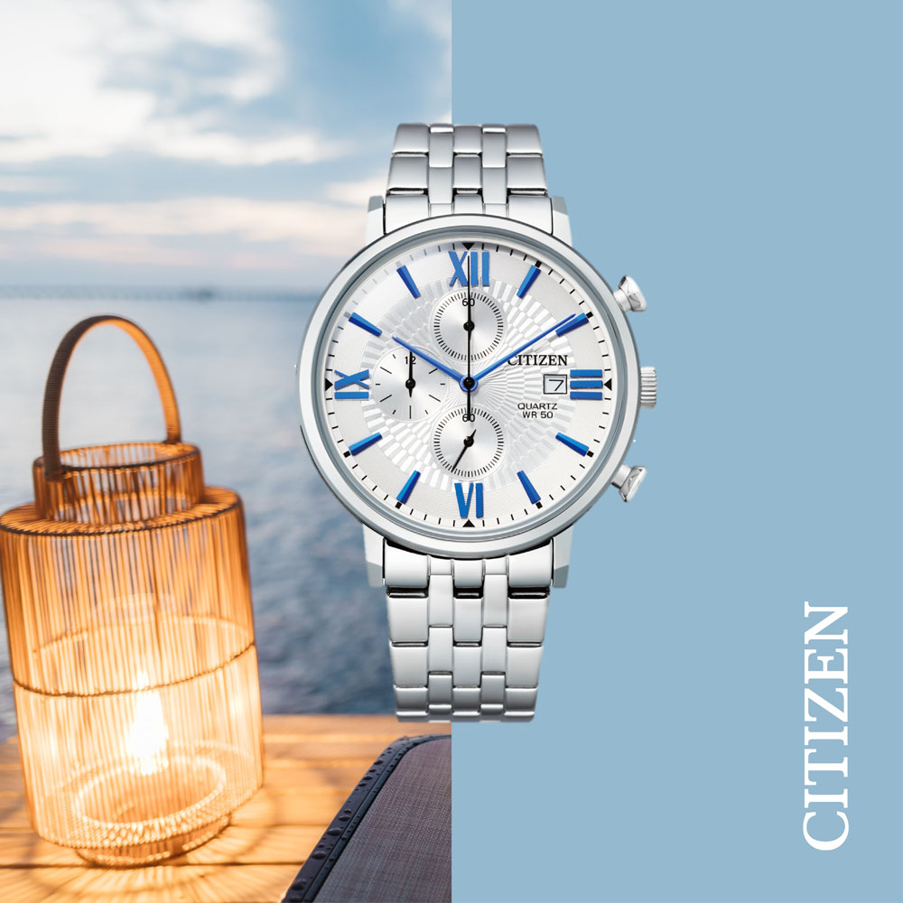 Citizen Quartz Chronograph AN3610-71A Mens Watch