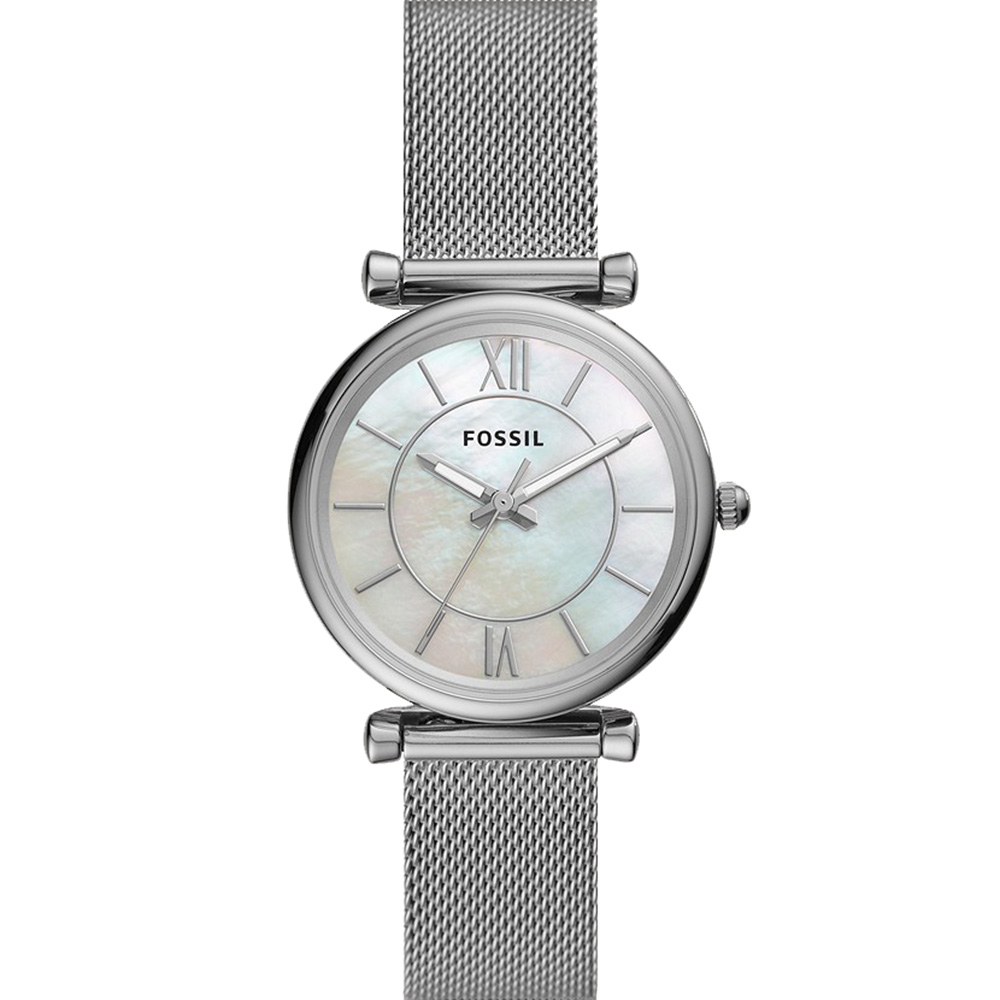 Fossil Carlie ES4919 Silver Womens Watch
